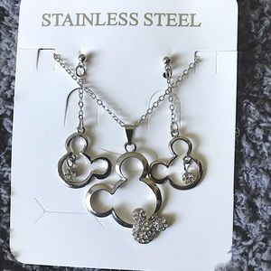 Mickey Mouse Disney stainless steel jewelery